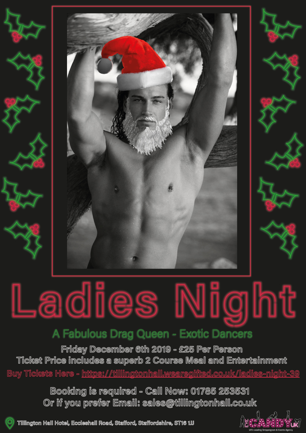 Ladies Night In Stafford At Tillington Hall Hotel